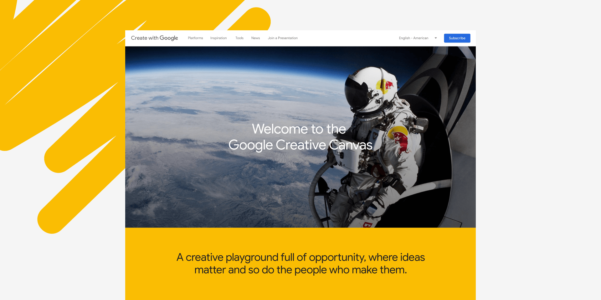 Create with Google